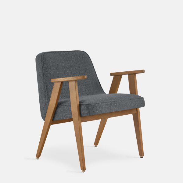 366 Concept 366 Armchair W02 Coco Graphite