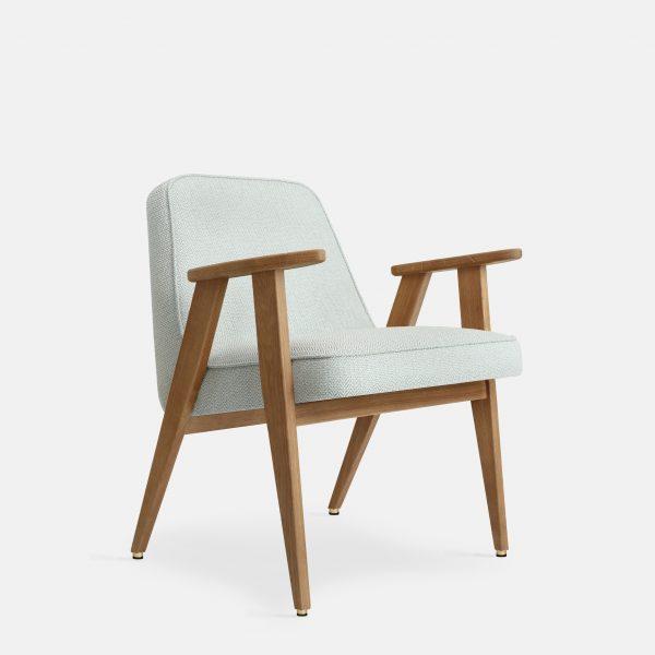 366 Concept 366 Armchair W02 Tweed Mentos