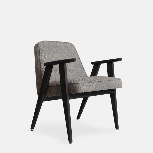 366 Concept 366 Armchair W04 Tweed Grey