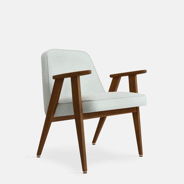 366 Concept 366 Armchair W05 Tweed Mentos