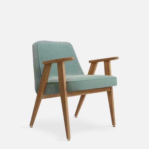 366 Concept 366 Armchair W02 Velvet Mint