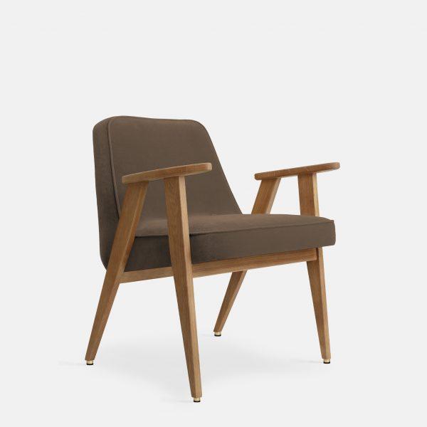 366 Concept 366 Armchair W02 Velvet Taupe