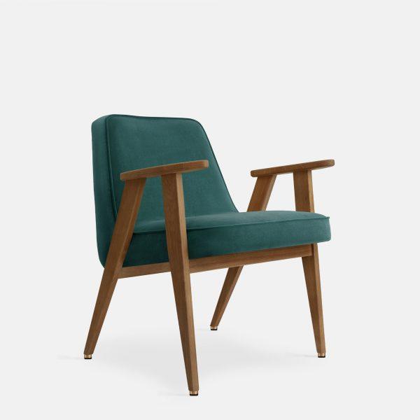 366 Concept 366 Armchair W03 Velvet Ocean