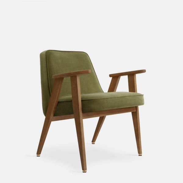 366 Concept 366 Armchair W03 Velvet Olive