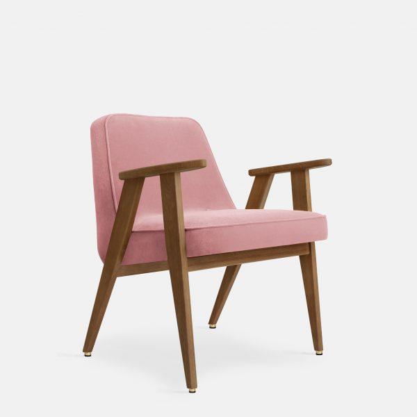 366 Concept 366 Armchair W03 Velvet Powder Pink
