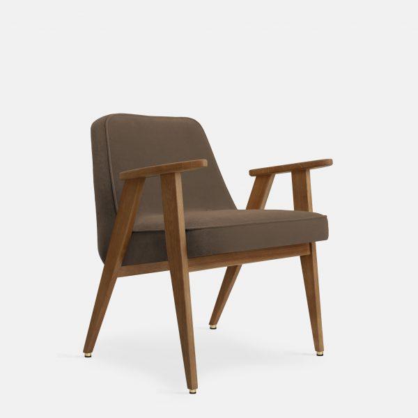 366 Concept 366 Armchair W03 Velvet Taupe