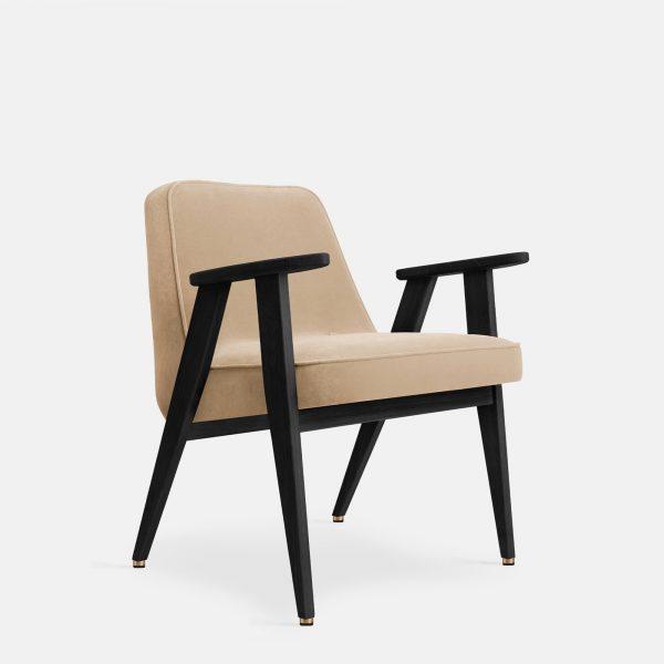 366 Concept 366 Armchair W04 Velvet Sand
