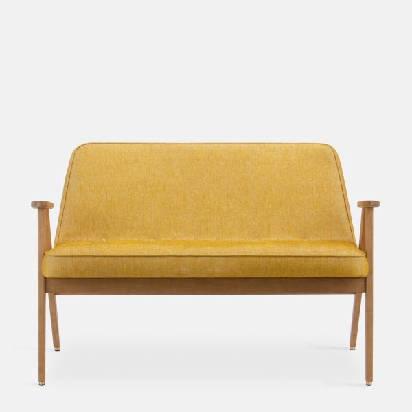 366 Concept 366 Sofa W02 Loft Mustard front