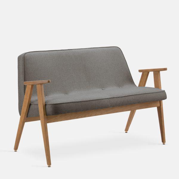366 Concept 366 Sofa W02 Tweed Grey
