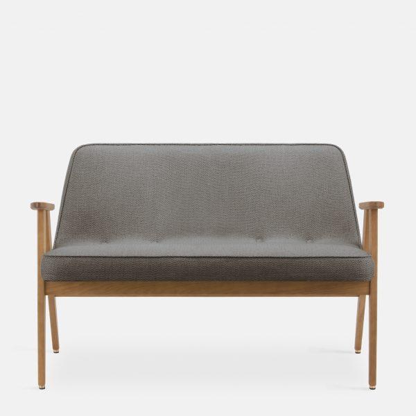 366 Concept 366 Sofa W02 Tweed Grey front