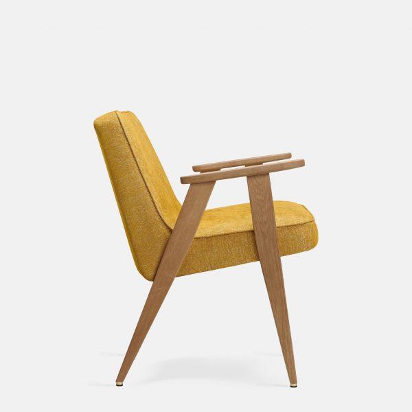 366 Concept 366 Armchair W02 Loft Mustard side
