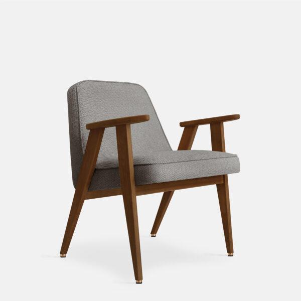 366 Concept 366 Armchair W05 Tweed Grey